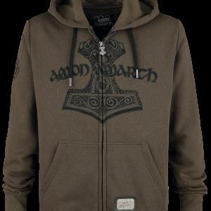 Amon Amarth - EMP Signature Collection - Hooded zip - brown product image at Soundorabilia.com
