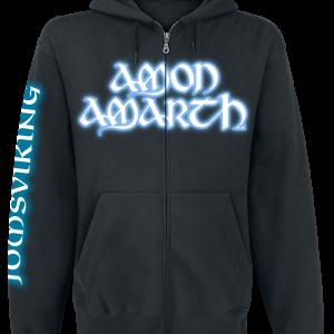 Amon Amarth - Jomsviking - Hooded zip - black product image at Soundorabilia.com