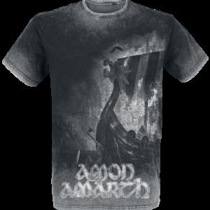 Amon Amarth - One Thousand Burning Arrows - T-Shirt - charcoal product image at Soundorabilia.com
