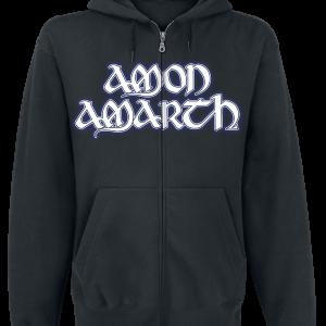 Amon Amarth - Raven's Flight - Hooded zip - black product image at Soundorabilia.com
