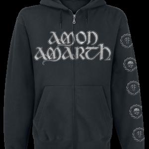Amon Amarth - Skullship - Hooded zip - black product image at Soundorabilia.com