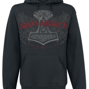 Amon Amarth - The Pursuit Of Vikings - Hooded sweatshirt - black product image at Soundorabilia.com