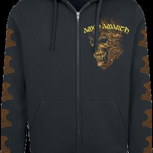 Amon Amarth - Thor - Hooded zip - black product image at Soundorabilia.com