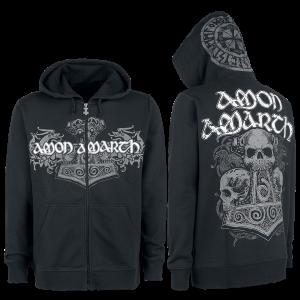 Amon Amarth - Thorhammer - Hooded zip - black product image at Soundorabilia.com