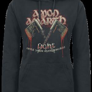 Amon Amarth - Viking - Girls hooded sweatshirt - black product image at Soundorabilia.com