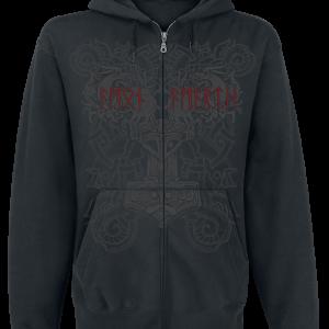 Amon Amarth - Viking Horde - Hooded zip - black product image at Soundorabilia.com