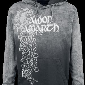 Amon Amarth - Viking Horses - Hooded sweatshirt - grey-black product image at Soundorabilia.com