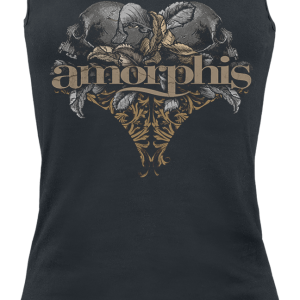 Amorphis - Skulls - Girls Top - black product image at Soundorabilia.com