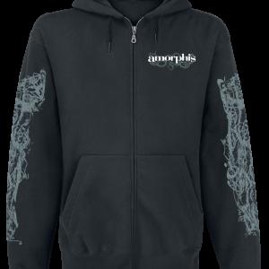 Amorphis - Snake - Hooded zip - black product image at Soundorabilia.com