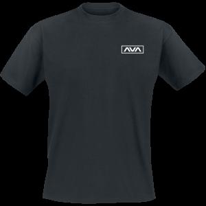 Angels & Airwaves - White Logo - T-Shirt - black product image at Soundorabilia.com