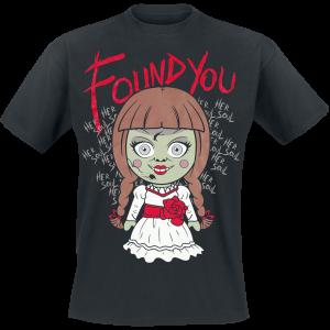 Annabelle - Doll - T-Shirt - black product image at Soundorabilia.com