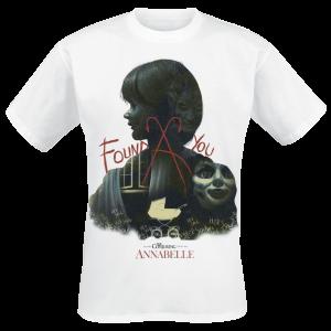 Annabelle - Found You - T-Shirt - white product image at Soundorabilia.com