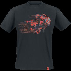 Anthem - Colossus Class - T-Shirt - black product image at Soundorabilia.com