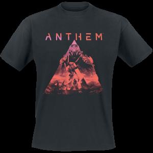 Anthem - Key Art - T-Shirt - black product image at Soundorabilia.com