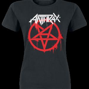 Anthrax - Anthems - Girls shirt - black product image at Soundorabilia.com