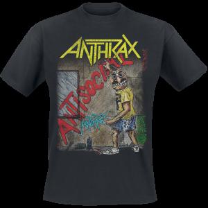 Anthrax - Anti-Social - T-Shirt - black product image at Soundorabilia.com