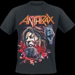 Anthrax - Fist Full Halloween - T-Shirt - black product image at Soundorabilia.com