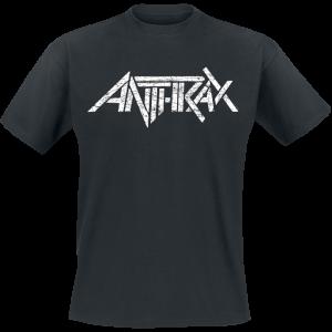 Anthrax - Logo - T-Shirt - black product image at Soundorabilia.com