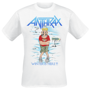 Anthrax - Winter Is Here - T-Shirt - white product image at Soundorabilia.com