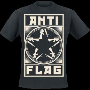 Anti-Flag - New Gunstar - T-Shirt - black product image at Soundorabilia.com