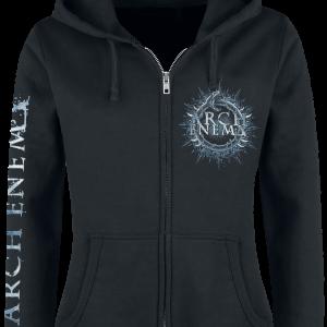 Arch Enemy - Bat - Girls hooded zip - black product image at Soundorabilia.com