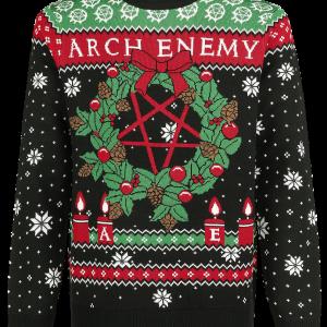 Arch Enemy - Holiday Sweater 2019 - Sweatshirt - multicolour product image at Soundorabilia.com