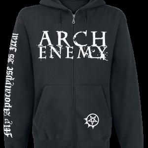 Arch Enemy - My Apocalypse - Hooded zip - black product image at Soundorabilia.com