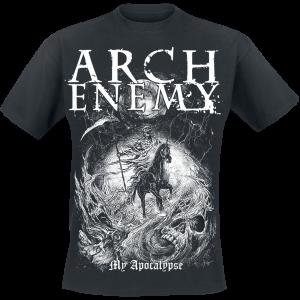 Arch Enemy - My Apocalypse - T-Shirt - black product image at Soundorabilia.com