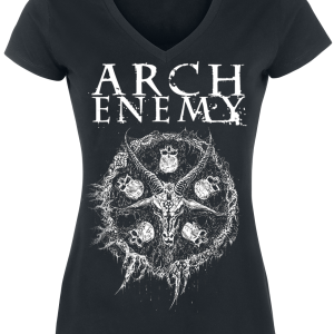 Arch Enemy - Pure Fucking Metal - Girls shirt - black product image at Soundorabilia.com