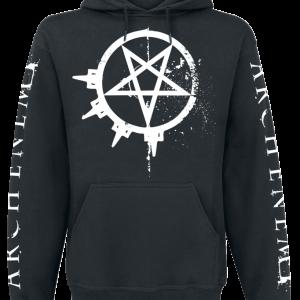 Arch Enemy - Pure Fucking Metal - Hooded sweatshirt - black product image at Soundorabilia.com