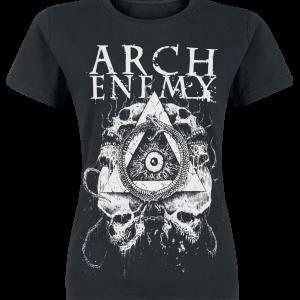 Arch Enemy - Riddick Black Logo - Girls shirt - black product image at Soundorabilia.com