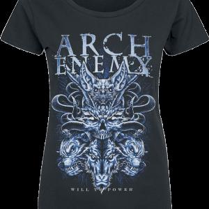 Arch Enemy - Will Snake - Girls shirt - black product image at Soundorabilia.com