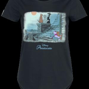 Aristocats - Chimney - Girls shirt - black product image at Soundorabilia.com