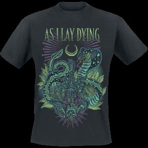 As I Lay Dying - Cobra - T-Shirt - black product image at Soundorabilia.com
