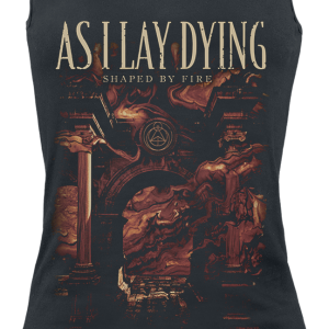 As I Lay Dying - Shaped By Fire - Girls Top - black product image at Soundorabilia.com