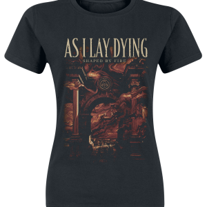 As I Lay Dying - Shaped By Fire - Girls shirt - black product image at Soundorabilia.com