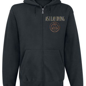 As I Lay Dying - Shaped By Fire - Hooded zip - black product image at Soundorabilia.com