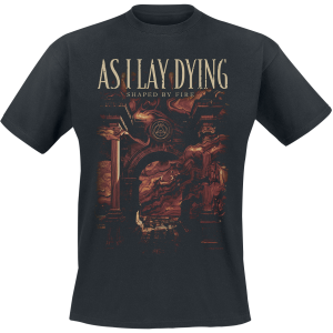 As I Lay Dying - Shaped By Fire - T-Shirt - black product image at Soundorabilia.com