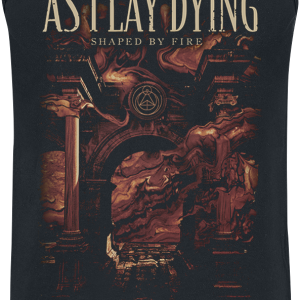 As I Lay Dying - Shaped By Fire - Tanktop - black product image at Soundorabilia.com