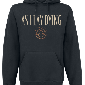 As I Lay Dying - Skulls - Hooded sweatshirt - black product image at Soundorabilia.com