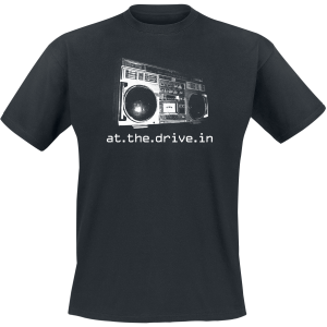 At The Drive-In - Boombox - T-Shirt - black product image at Soundorabilia.com