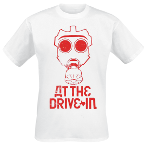At The Drive-In - Mask - T-Shirt - white product image at Soundorabilia.com