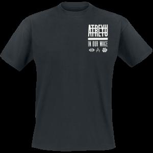 Atreyu - In Our Wake - T-Shirt - black product image at Soundorabilia.com