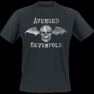 Avenged Sevenfold - Cyborg Deathbat - T-Shirt - black product image at Soundorabilia.com