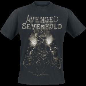 Avenged Sevenfold - King - T-Shirt - black product image at Soundorabilia.com