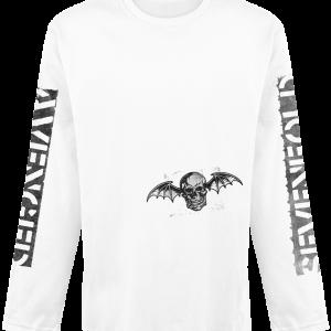 Avenged Sevenfold -  - Longsleeve - white product image at Soundorabilia.com