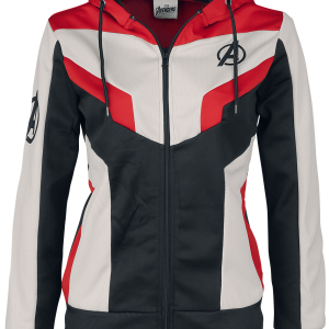 Avengers - Endgame - Quantum Suit - Girls hooded zip - multicolour product image at Soundorabilia.com