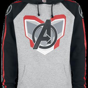 Avengers - Endgame - Uniform - Hooded sweatshirt - mixed grey-black product image at Soundorabilia.com