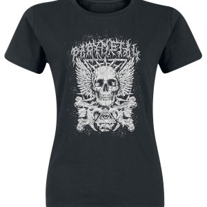 Babymetal - Black Crossbone - Girls shirt - black product image at Soundorabilia.com