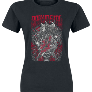 Babymetal - Black Rosewolf - Girls shirt - black product image at Soundorabilia.com